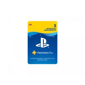 Sony PlayStation Plus 3 Måneder