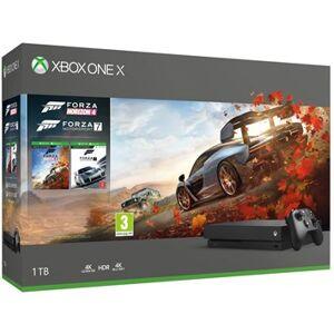 Microsoft Xbox One X Forza Horizon 4 + Forza Motorsport 7