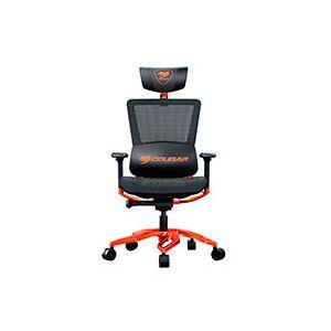 Cougar Gamer stol (PU-læder) Sort/Orange - Argo