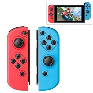 Höger och vänsterkontroll till Switch (Blå + Röd)
