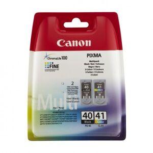 Canon Original patroner (2-pack) Canon PG-40 / CL41 Tricolor Black