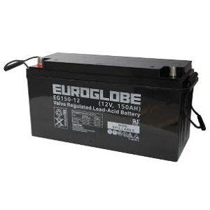 12V 156Ah AGM batteri (flerbruksbatteri) EG150-12 483x172x241mm