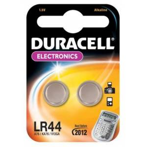 LR44, L1154, GP76A, 357 Batteri från Duracell 1,5 V Alkaliskt