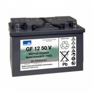 GEL BATTERI SONNENSCHEIN GF1250V A412/50 12V 55Ah LxBxH:275x175x190mm