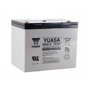 Yuasa AGM batteri 12V 80Ah syklisk drift T6 terminal REC 80-12