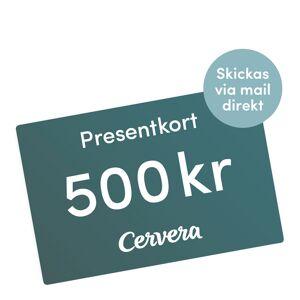 Cervera - Presentkort 500 Kr Digitalt