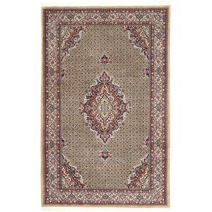 Handknuten. Ursprung: Persia / Iran Orientalisk Bidjar Matta 208X318 Ljusbrun/Ljusgrå (Ull, Persien/Iran)