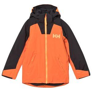 Helly Hansen Twister Jacka Orange/Khaki 14 years