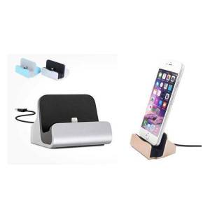Apple Iphone/android Aluminiums Dock/laddare