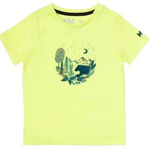Helly Hansen K Graphic Quick-dry T-shirt 104/4 Green