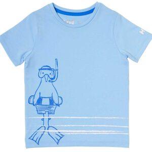 Helly Hansen K Graphic Quick-dry T-shirt 122/7 Blue