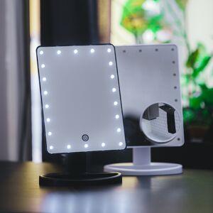 SPARNET Sminkspegel med LED-belysning