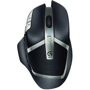 Logitech Gaming G602 trådløs gaming musen optisk svart