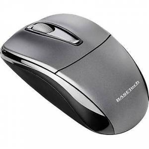 Basetech M105GX trådløse musen optiske svart, grå