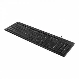 Tastatur USB Nordisk Sort