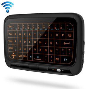Trådlöst Mini Tangentbord med Full Touchpad & Justerbar belysning