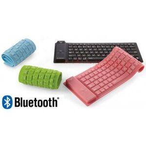 Vattentätt Bluetooth gummitangentbord - Rosa