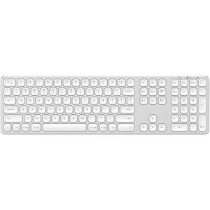 Satechi Aluminum Bluetooth Wireless Keyboard Silver