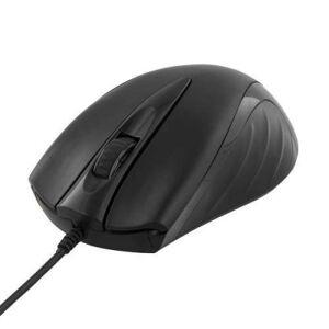 Deltaco Trådbunden optisk mus med 3 knappar och scroll, USB, ergonomisk