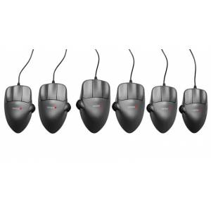 Contour Mouse Grey Metal, x-Large, Right