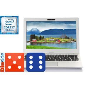 """Multicom Talisa U831 13.3"""" Full-HD WVA matt, 8. gen Intel Core i7-8550U, 16GB, 512GB PCIe SSD, 1TB HDD, Thunderbolt 3/USB-C, Uten operativsystem, 18mm, 1.3kg"""