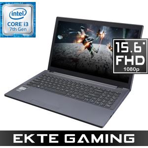 """Multicom Xishan W650K 15.6"""" Full-HD Matt IPS, Intel Core i3-7320, 8GB DDR4, 1TB HDD, GeForce GTX 1050 4GB, Uten operativsystem - Demovare"""