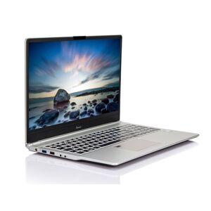 """Multicom Talisa U850 Silver Edition 15.6"""" Full-HD WVA matt, Intel Core i7-8565U, 8GB, 512GB PCIe SSD, Thunderbolt 3/USB-C, Uten operativsystem, 1.7kg,"""