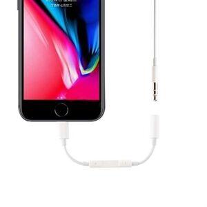 Apple Lyn for 3,5 mm AUX-adapter med in-line-kontroll