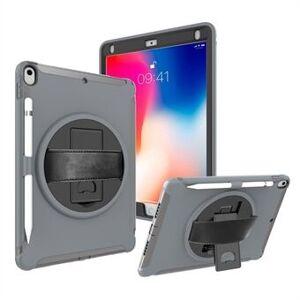 Apple 360 ° svingbart stativ PC + TPU hybrid tablettveske med håndstropp til iPad Pro 10,5-tommers (2017)