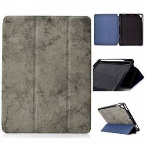 Apple Tri-fold Leather Stand Cover for iPad Air / Air 2 / iPad 9.7-inch (2018) / iPad 9.7-inch (2017)