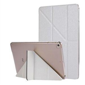 Apple Silk Texture Origami Stand PU lærveske til iPad mini (2019) 7,9 tommer