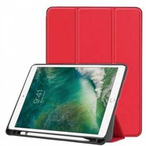Apple Tri-fold Smart Leather Tablet Stand Shell med pennespalte for iPad Air 10.5 (2019) / Pro 10.5 (2017)