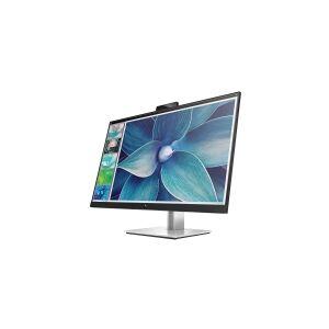 HP E27d G4 Advanced Docking Monitor - LED-skjerm - 27 (27 synlig) - 2560 x 1440 QHD @ 60 Hz - IPS - 300 cd/m² - 1000:1 - 5 ms - HDMI, DisplayPort, USB-C - svart
