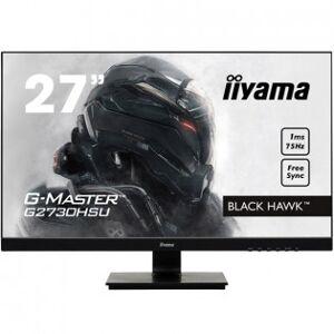 """IIYAMA G-MASTER Black Hawk 27"""" 75Hz FHD gamingskärm"""