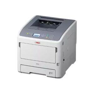 Oki B721dn - Skriver - monokrom - Dupleks - LED - A4 - 1200 x 1200 dpi - inntil 47 spm - kapasitet: 630 ark - USB 2.0, Gigabit LAN, USB-vert