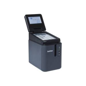 Brother P-Touch PT-P950NW - Etikettskriver - termotransfer - Rull (3,6 cm) - 360 x 720 dpi - inntil 60 mm/sek - USB 2.0, LAN, Wi-Fi(n) - automatisk skjærer