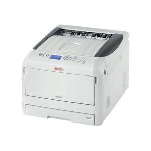 Oki C823dn - Skriver - farge - Dupleks - LED - A3 - 1200 x 600 dpi - inntil 23 spm (mono) / inntil 23 spm (farge) - kapasitet: 400 ark - USB 2.0,