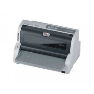 Oki Microline 5100FB - Skriver - monokrom - punktmatrise - 254 mm (bred) - 360 dpi - 24 pin - inntil 375 tegn/sek - parallell, USB, seriell