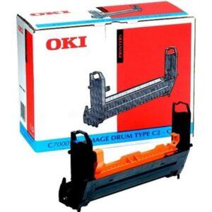 Oki Image-valse/trommel cyan Type C4 23.000 sider