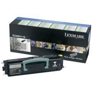 Lexmark Tonerkassett sort 6.000 sider return, hÃ?y kapasitet