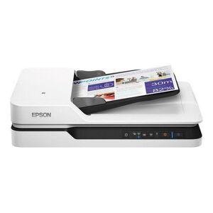 Epson Workforce Ds-1660w - Dual Face Wi-fi Scanner 1200 Dpi Lan - Hvid