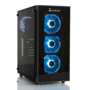 Multicom Noox A620R RGB Gaming-PC AMD Ryzen 5 2600, 8GB, 480GB SSD, GeForce RTX 2060 6GB, 500W, Uten operativsystem
