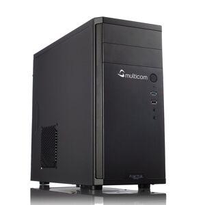 Multicom i315C Kontor / Hjemme PC Intel Core i5-8400, 8GB DDR4, 512GB PCIe SSD, Intel UHD Graphics 630, 450W, Uten operativsystem