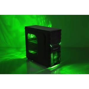 Multicom Tycho i517CR Gaming PC Intel Core i5-9400F, 8GB, 512GB PCIe SSD, GeForce GTX 1650 4GB, 600W, Uten operativsystem