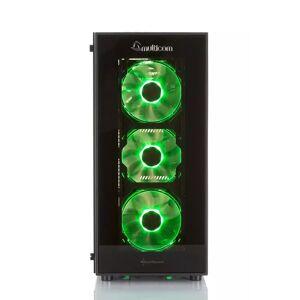 Multicom Noox A615R RGB Gaming-PC AMD Ryzen 5 3600, 16GB, 512GB PCIe SSD, GeForce GTX 1660 Ti 6GB, 450W, Uten operativsystem