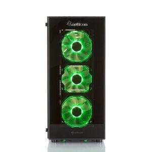 Multicom A626R Gaming-PC by INNO3D AMD Ryzen 5 2600, 16GB DDR4, 1TB PCIe SSD, GeForce RTX 2080 8GB, 600W, Uten operativsystem