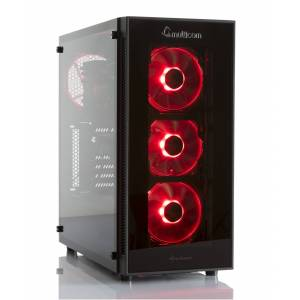 Multicom Noox A624R RGB Gaming-PC AMD Ryzen 5 3600, 16GB, 512GB PCIe SSD, GeForce RTX 2070 Super 8GB, 600W, med MS Windows 10 Home, demobrukt