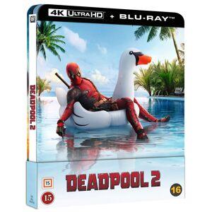 Deadpool 2  Blu Ray+Uhd 4K- Steelbook