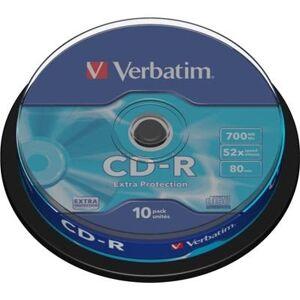 Verbatim CD-R skivor 52x 700 MB 10-pack