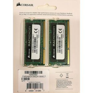 Muut CORSAIR DDR3 8GB 2x4GB Dual channel kit 1066MHz SODIMM Apple Qualified
